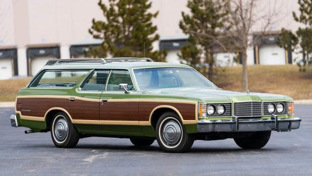 1974 Ford Ltd Country Squire Station Wagon Vin 4j76s162122 Classic Com