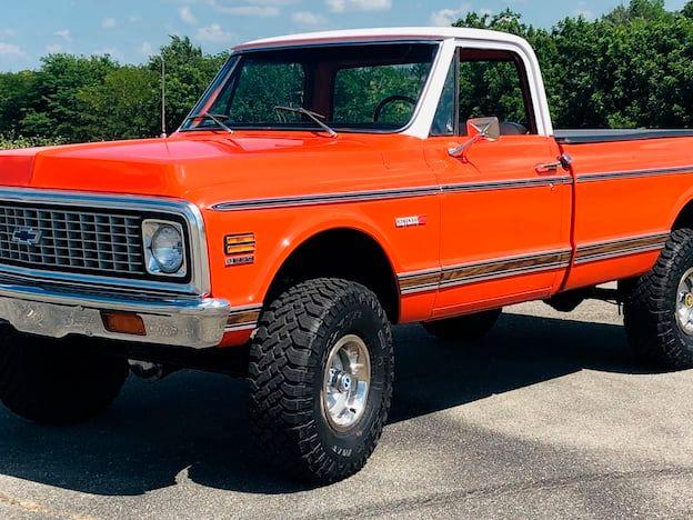 1971 Chevrolet K10 Pickup