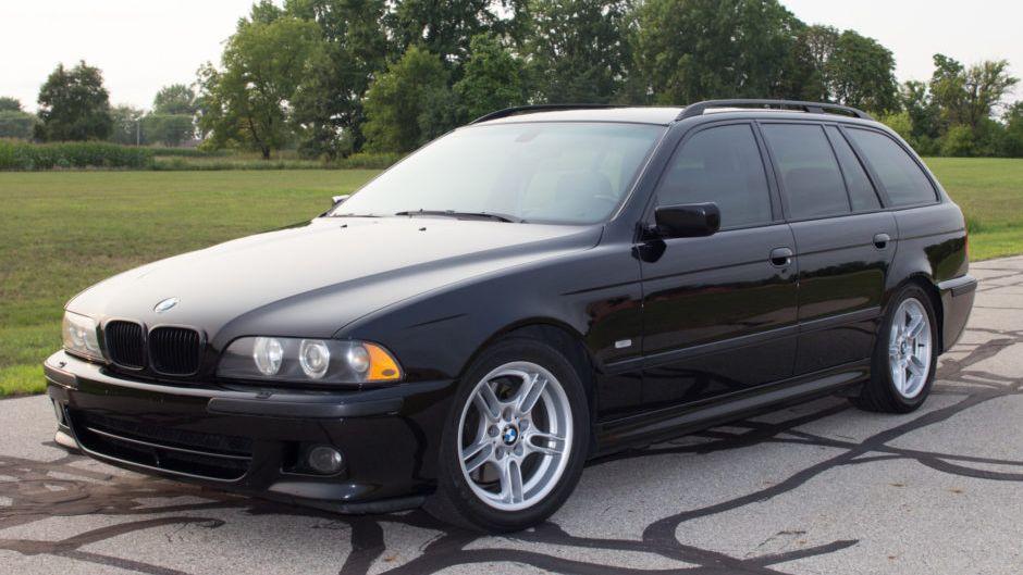 2003 Bmw 540i Touring M Sport Vin Wbadr63453gn92528 Classic Com