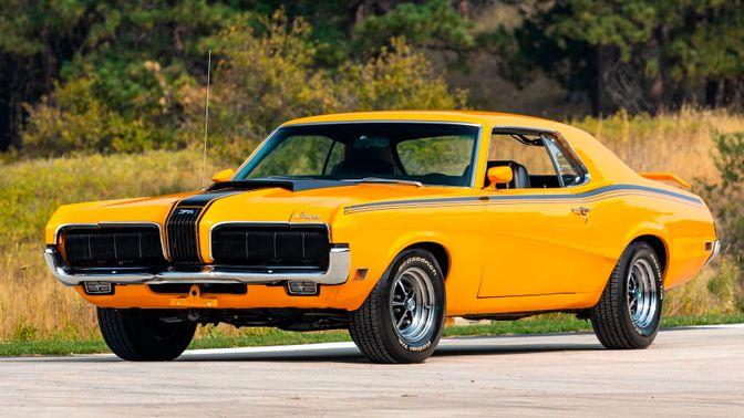 1970 Mercury Cougar Boss 302 Eliminator