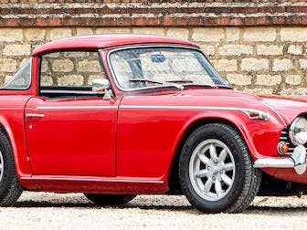 1968 Triumph  TR5 With Surrey Top