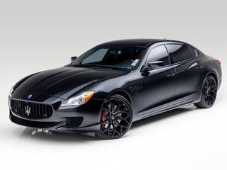 2016 Maserati Quattroporte GTS Ermenegildo Zegna Edition