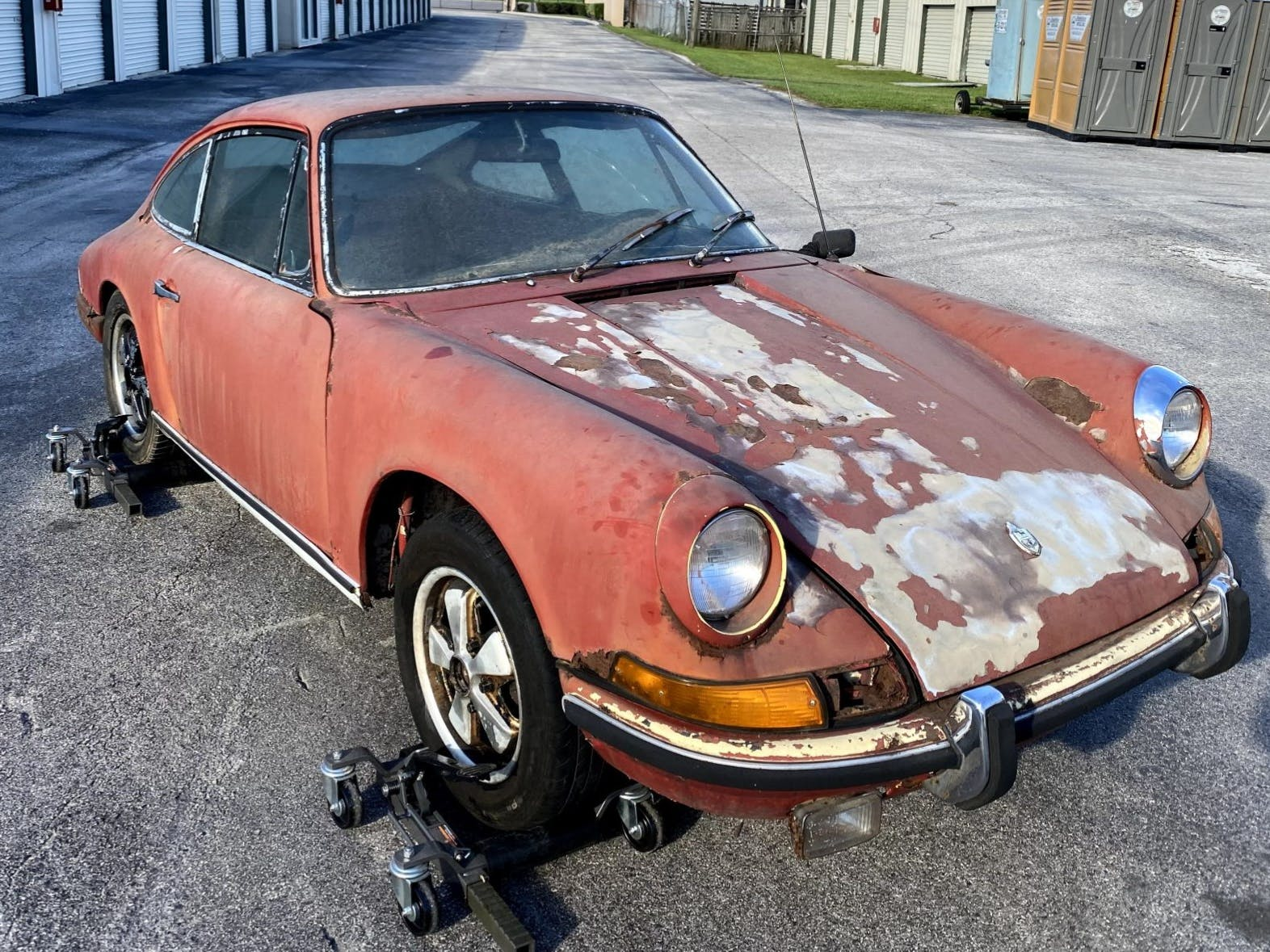 1968 Porsche 911S Coupe Project