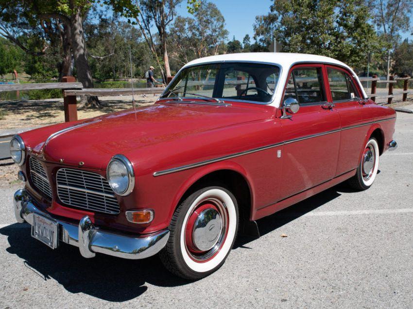 1960 Volvo 122S 4-Speed