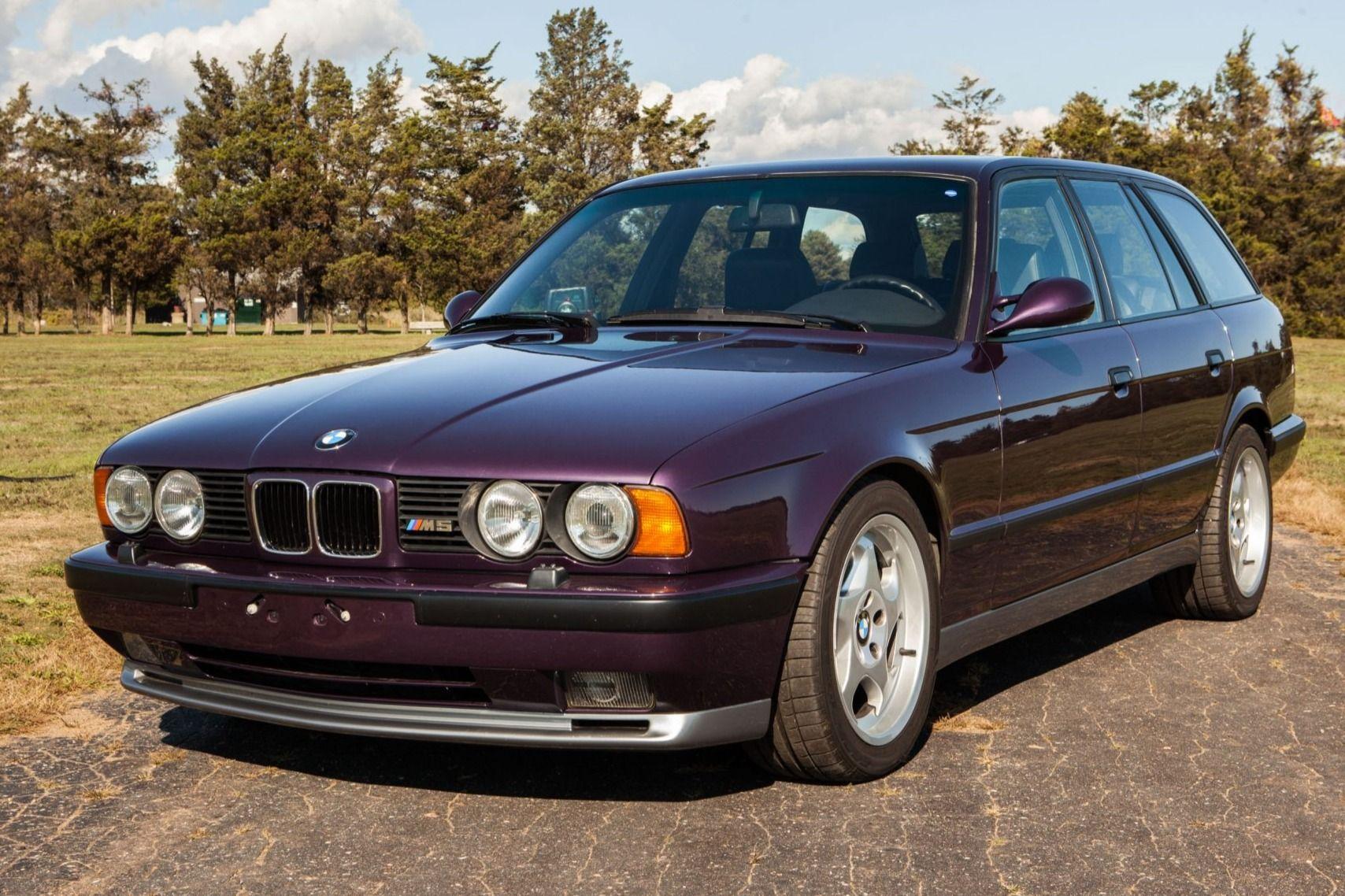 1993 Bmw M5 Touring Vin Wbshj91030bl01376 Classic Com