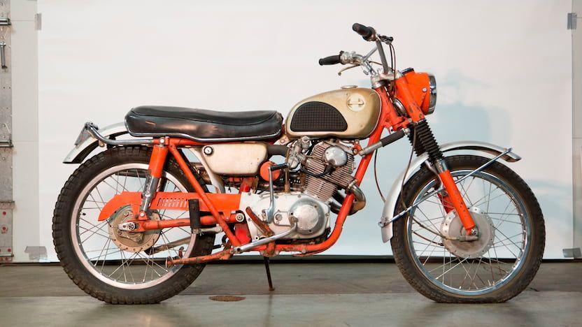1965 Honda 250 Scrambler
