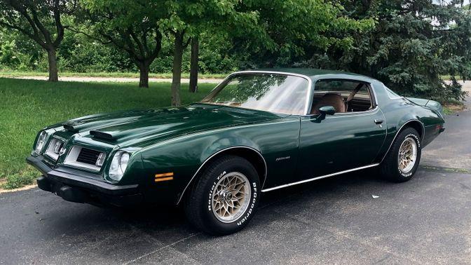 1975 Pontiac Firebird Formula