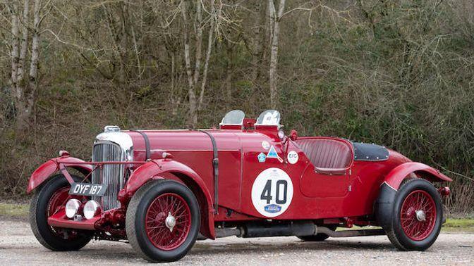 1937 Lagonda LG45 4½-Litre Fox & Nicholl 1936 Le Mans Team Car Replica