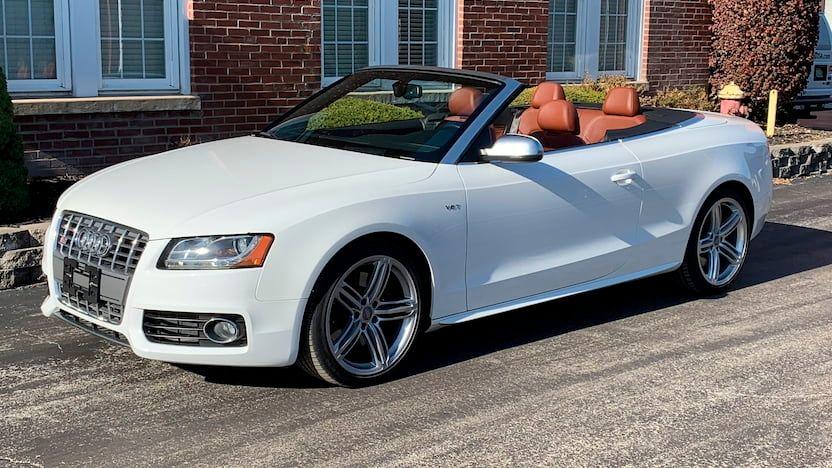 2010 Audi S5 Quattro Prestige Convertible
