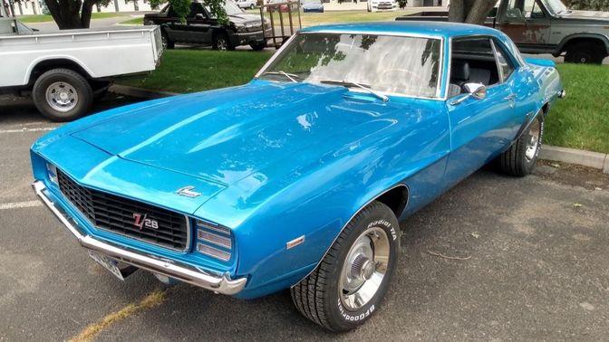 1969 Chevrolet Camaro 5-Speed