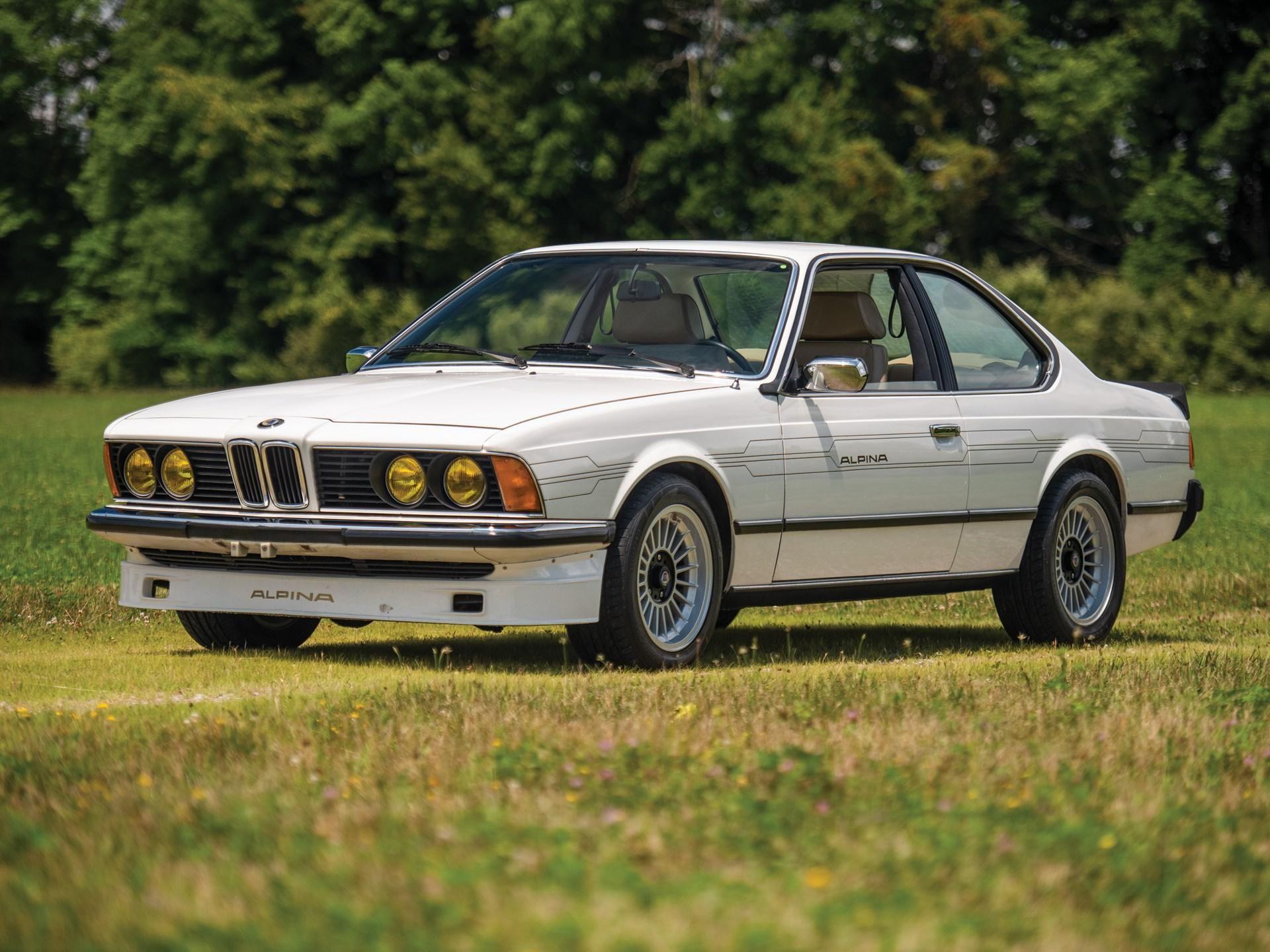 1982 BMW Alpina B7 Turbo Coupe