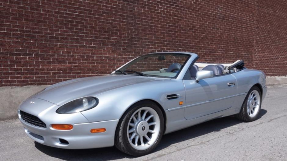 1998 Aston Martin Db7 Volante Vin Scfaa4120wk202053 Classic Com