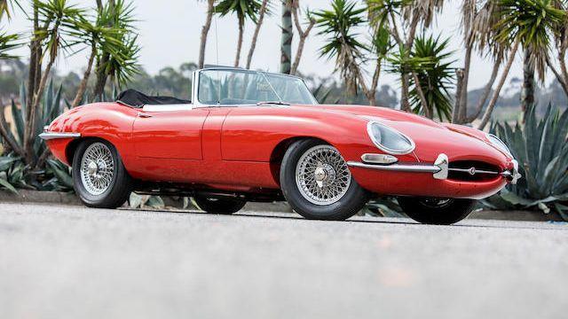 1965 Jaguar E-Type Series 1 4.2 Roadster