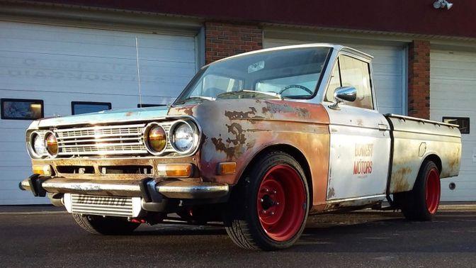 1969 Datsun 521 Pickup 5-Speed