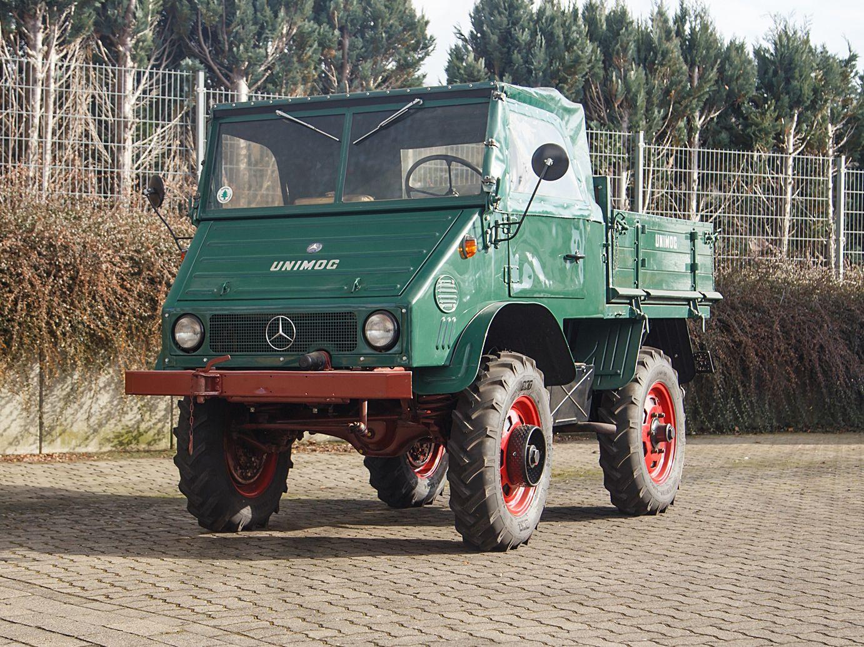 1959 Mercedes-Benz Unimog (Type 411)