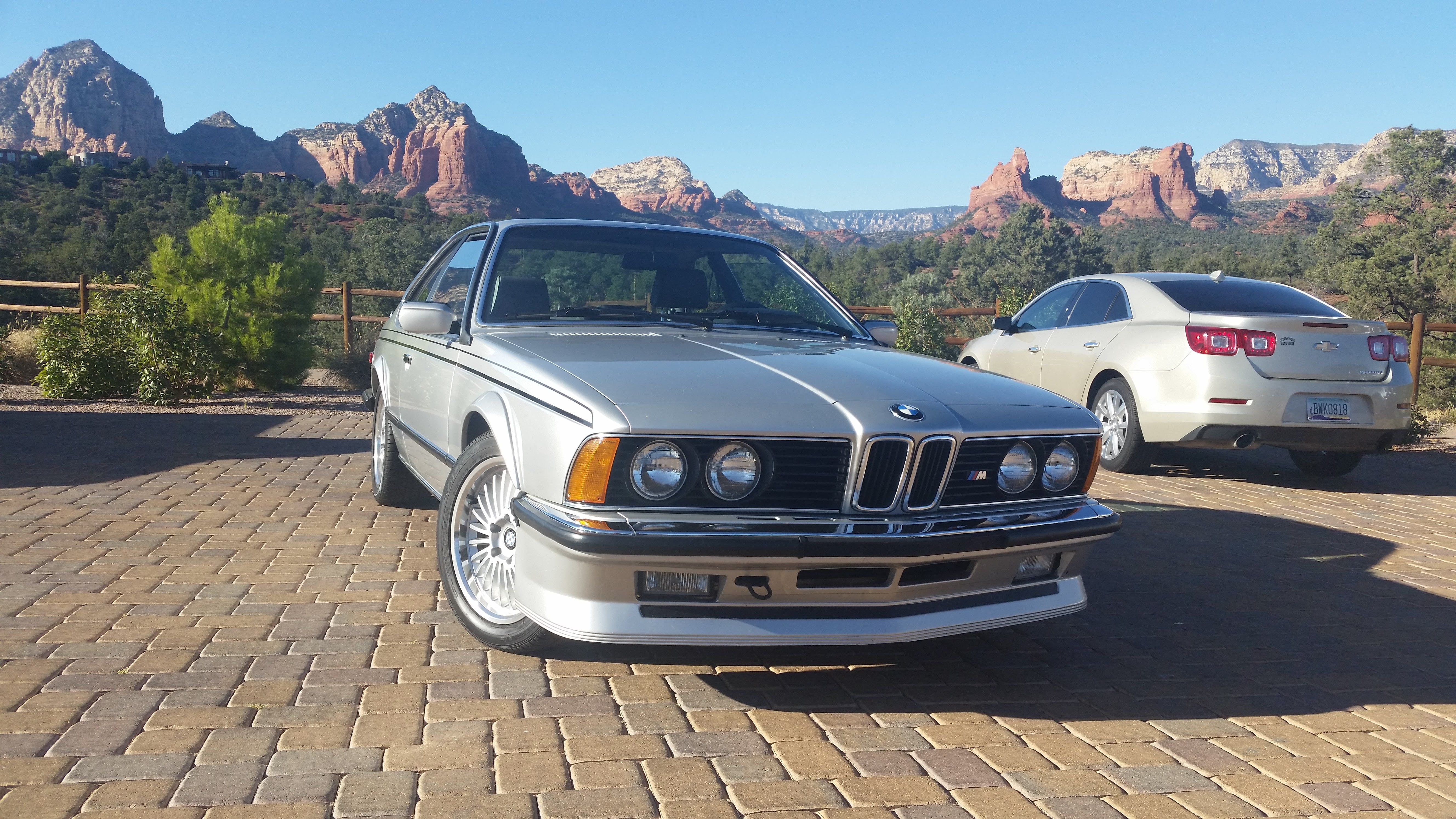 1985 Bmw M 635csi Sedan Sold At Russo And Steele Scottsdale 2018 Classic Com