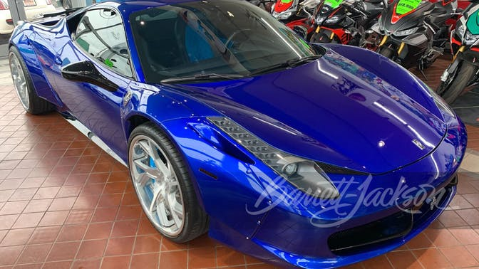 2015 Ferrari 458 Italia Custom Coupe