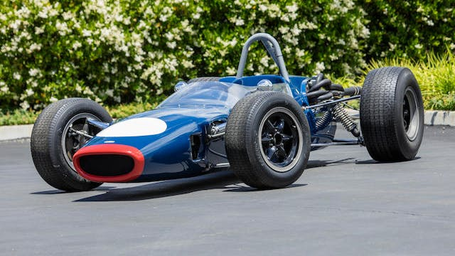 1966 Lola T62 Formula 3 Racing Single-Seater