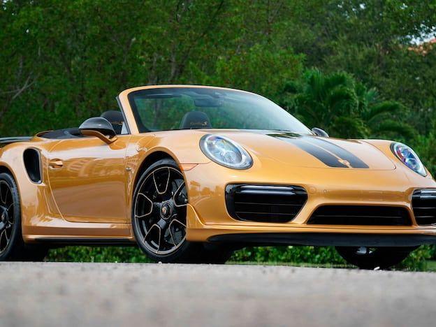 2019 Porsche Turbo S Exclusive Series Convertible