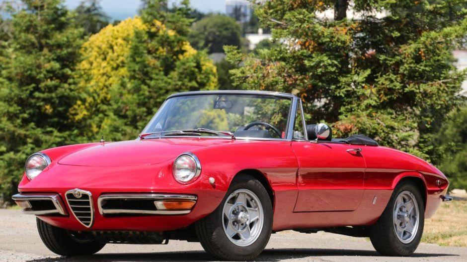 1969 Alfa Romeo Spider Duetto 2.0l VIN: AR1480618 ...