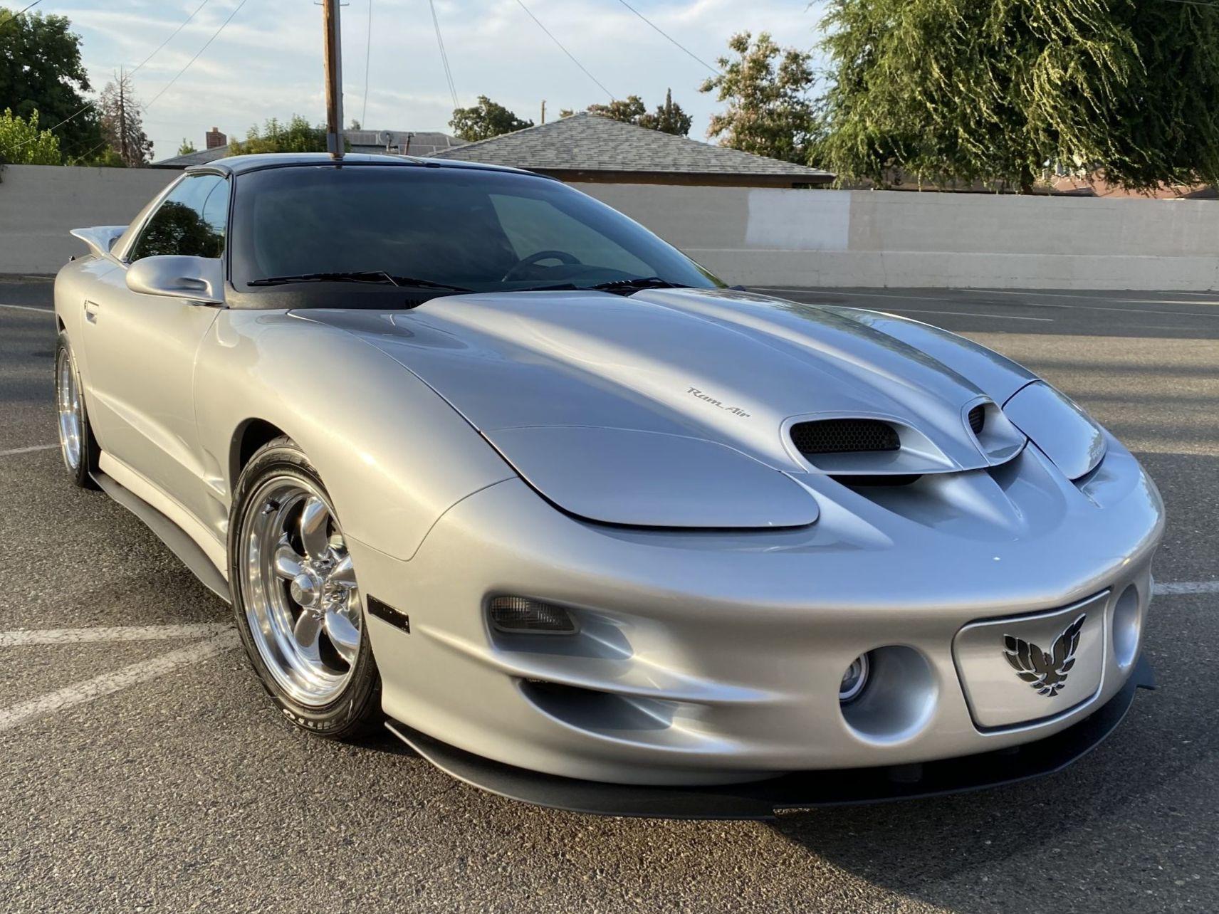 2002 Pontiac Firebird Trans Am 6-Speed