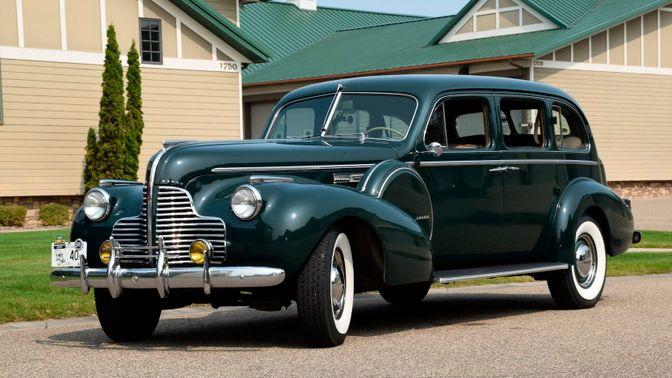 1940 Buick Model 91 Limited Touring Sedan
