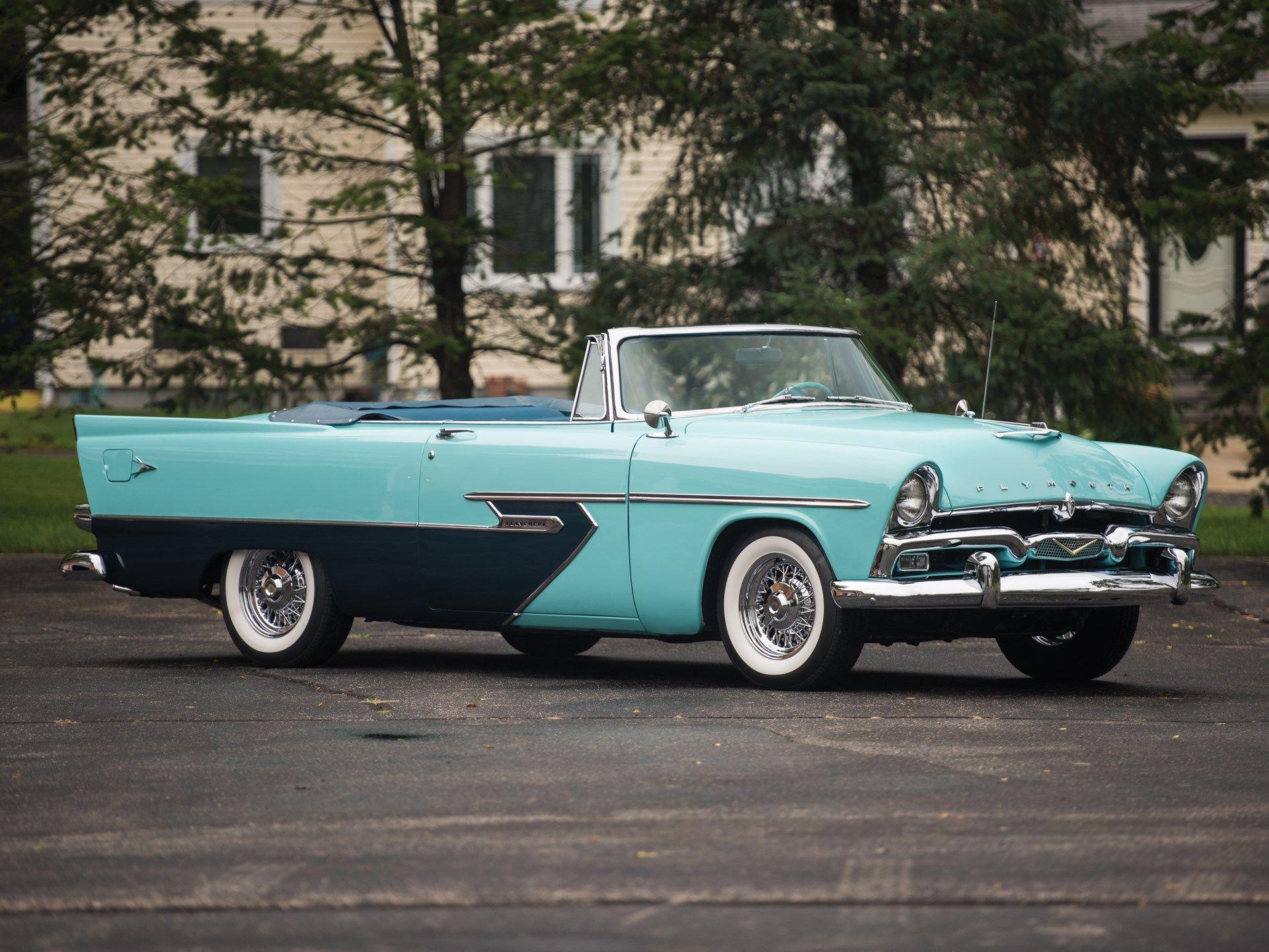 1956 Plymouth Belvedere Convertible
