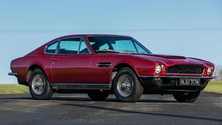 1973 Aston Martin Am Vantage Vin Am6042ra Classic Com