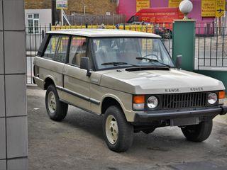 1972 Range Rover Suffix A (Lhd)