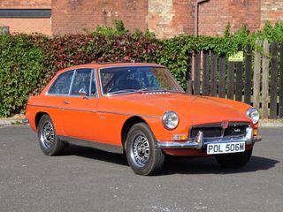 1973 MG B GT V8