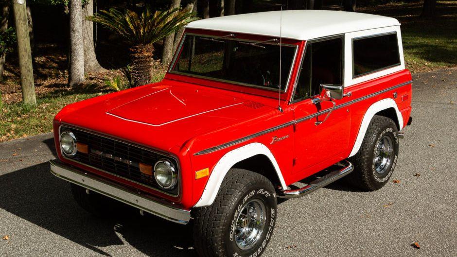 1974 Ford Bronco V8 4×4
