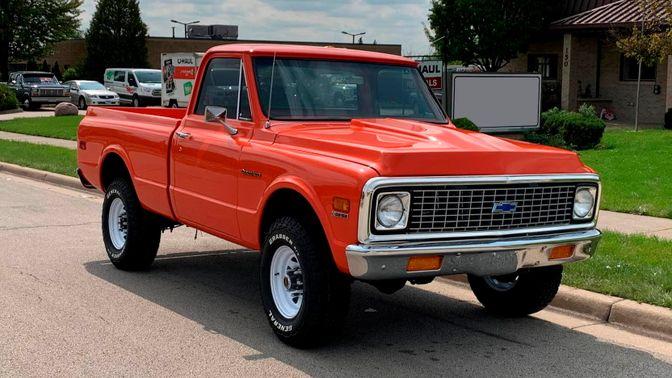 1972 Chevrolet K20 Pickup