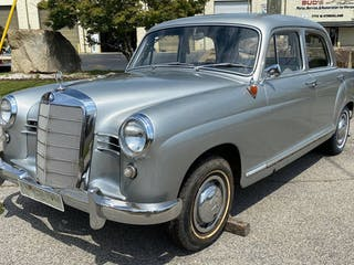 1958 Mercedes-Benz 190 Project