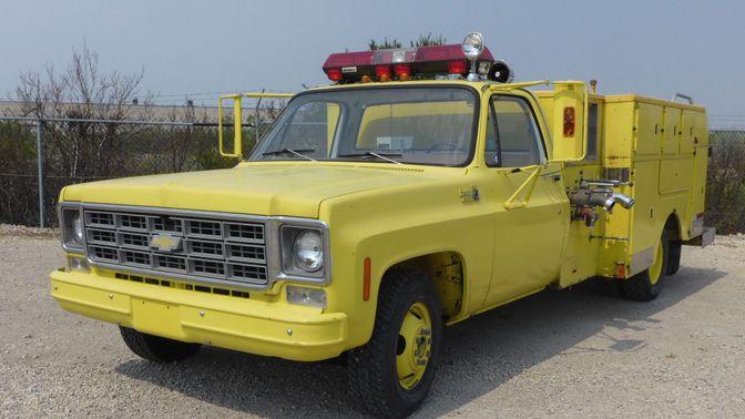 1977 Chevrolet C30 Dually Fire Truck