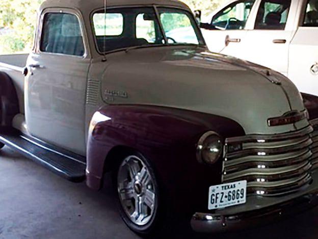 1950 Chevrolet 3100 5-Window Pickup