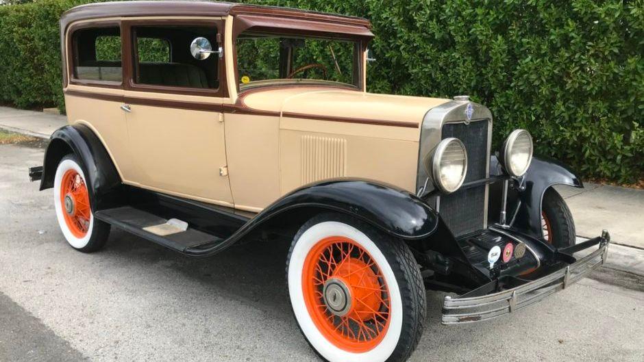 1930 Chevrolet Universal Ad Coach