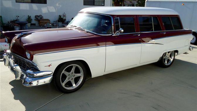 1956 Ford Country Sedan Custom Station Wagon