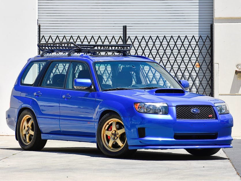 2008 Subaru Forester Sports Xt 5-Speed
