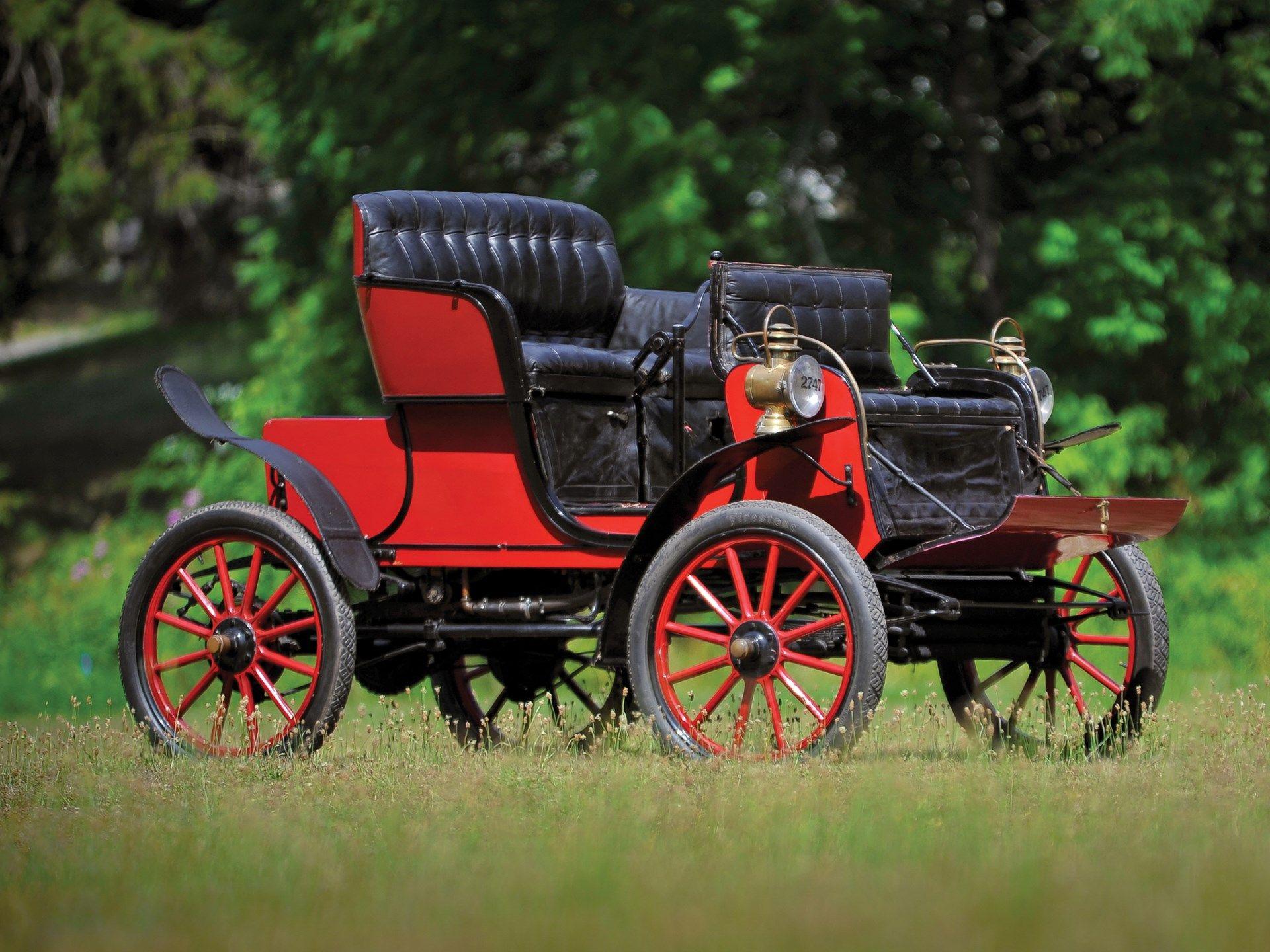 1903 Stevens-Duryea Model L Runabout