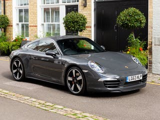 2013 Porsche 911 (991) 50TH Anniversary Edition