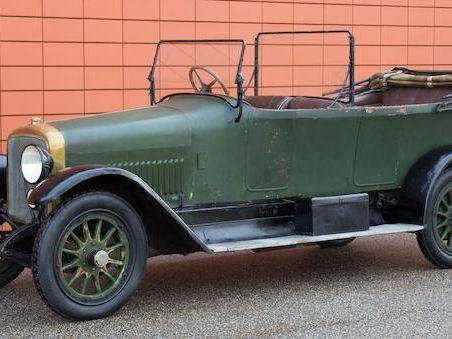Adler 35/80HP Phaeton 1914
