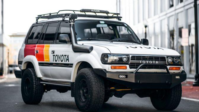 1992 Toyota Land Cruiser HDJ80 Diesel 5-Speed