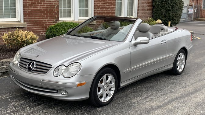 2004 Mercedes-Benz CLK320 Convertible
