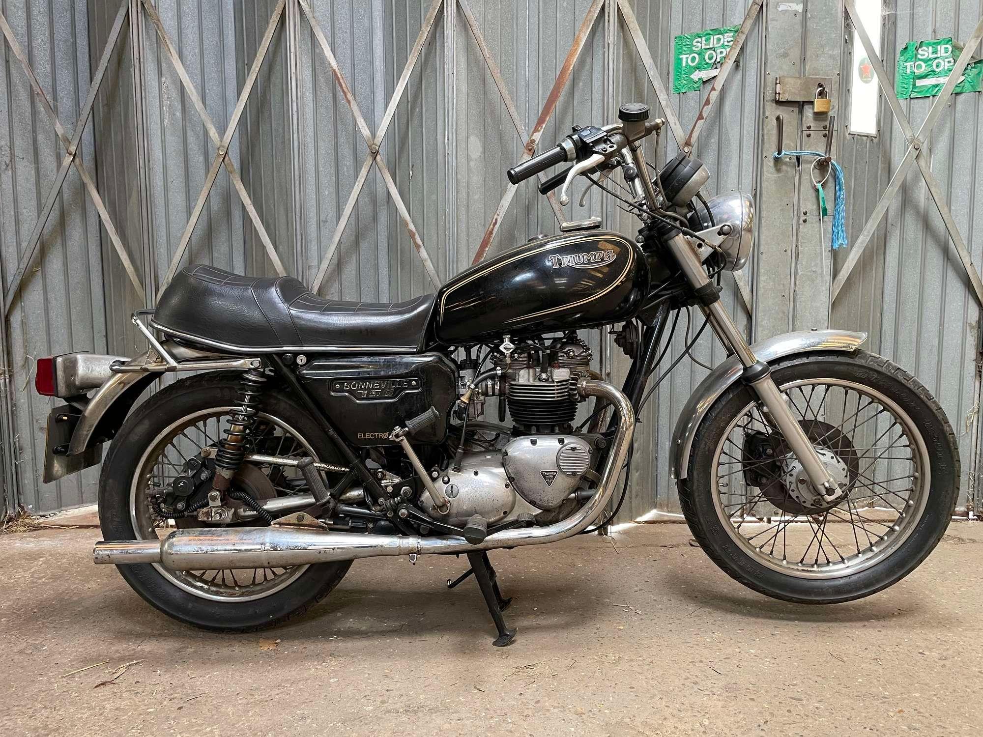 1983 Triumph T140 Es Bonneville
