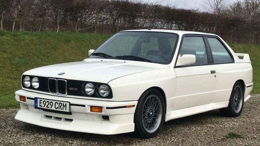 1987 Bmw E30 M3 Vin Wbsak050901891805 Classic Com