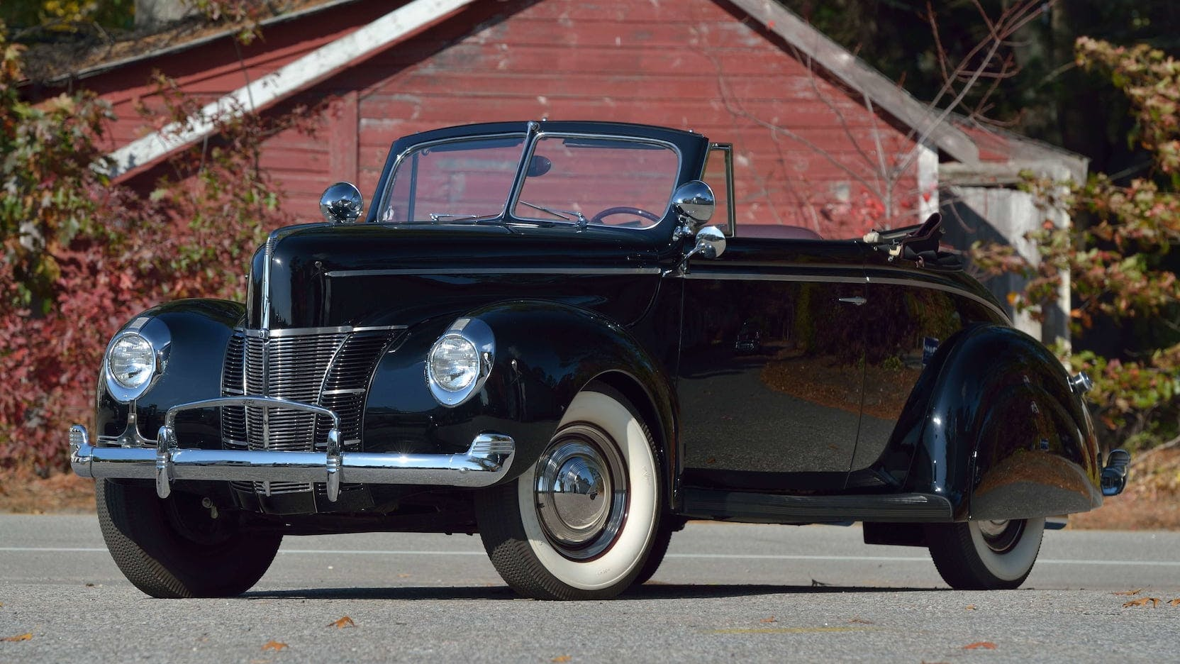 1940 Ford Deluxe Convertible For Sale At Mecum Kissimmee 2021 Classic Com