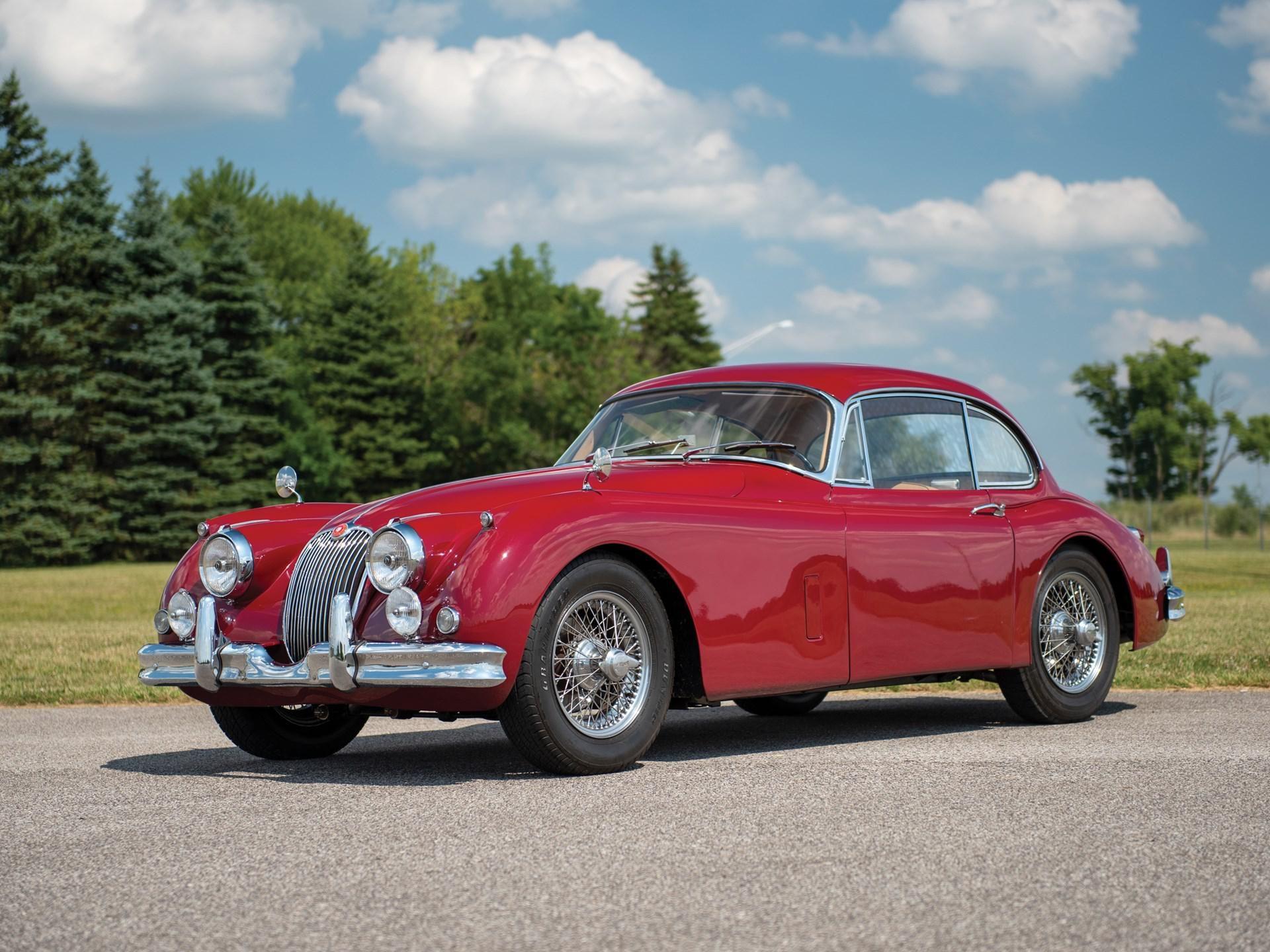 1958 Jaguar XK 150 Fixed Head Coupe