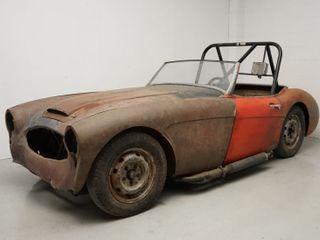 1958 Austin-Healey 100-6 BN4 Race Car Project