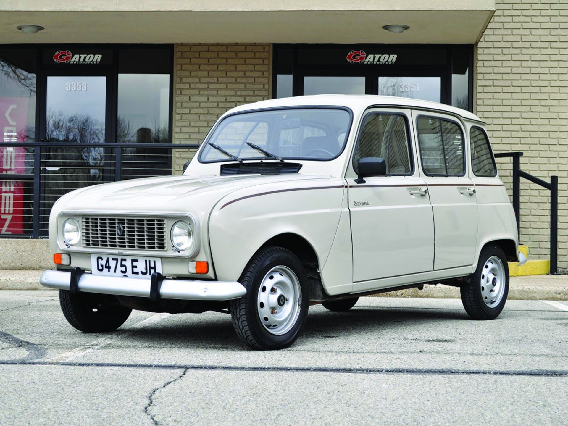 1989 Renault R4 Savane Classic Com