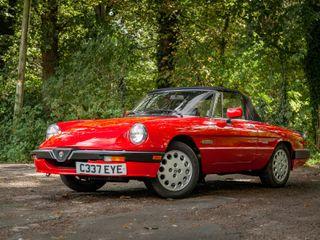 1986 Alfa Romeo Spider 2.0 S3